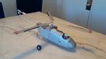 Free Flight Rubber Powered Heli's in flight