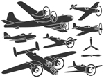 The various divisions of Free Flight models