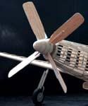 Model Airplane Propellers & Nose/Prop blocks